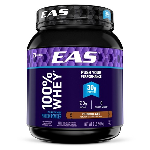 EAS® 100% Whey Protein Powder - Chocolate - 2lbs - image 1 of 3