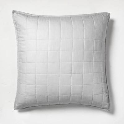 Heavyweight Linen Blend Quilt Pillow Sham - Casaluna™