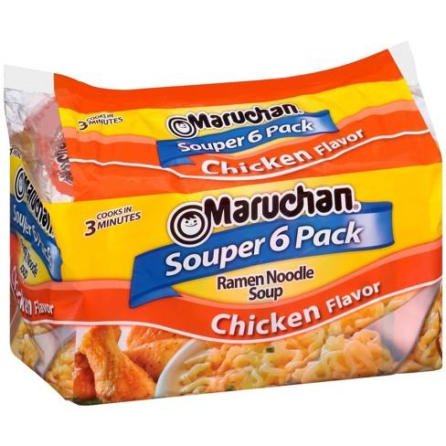Maruchan Ramen Noodle Soup Chicken - 6pk - image 1 of 3