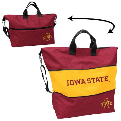 NCAA Iowa Hawkeyes State Crosshatch Expandable Tote