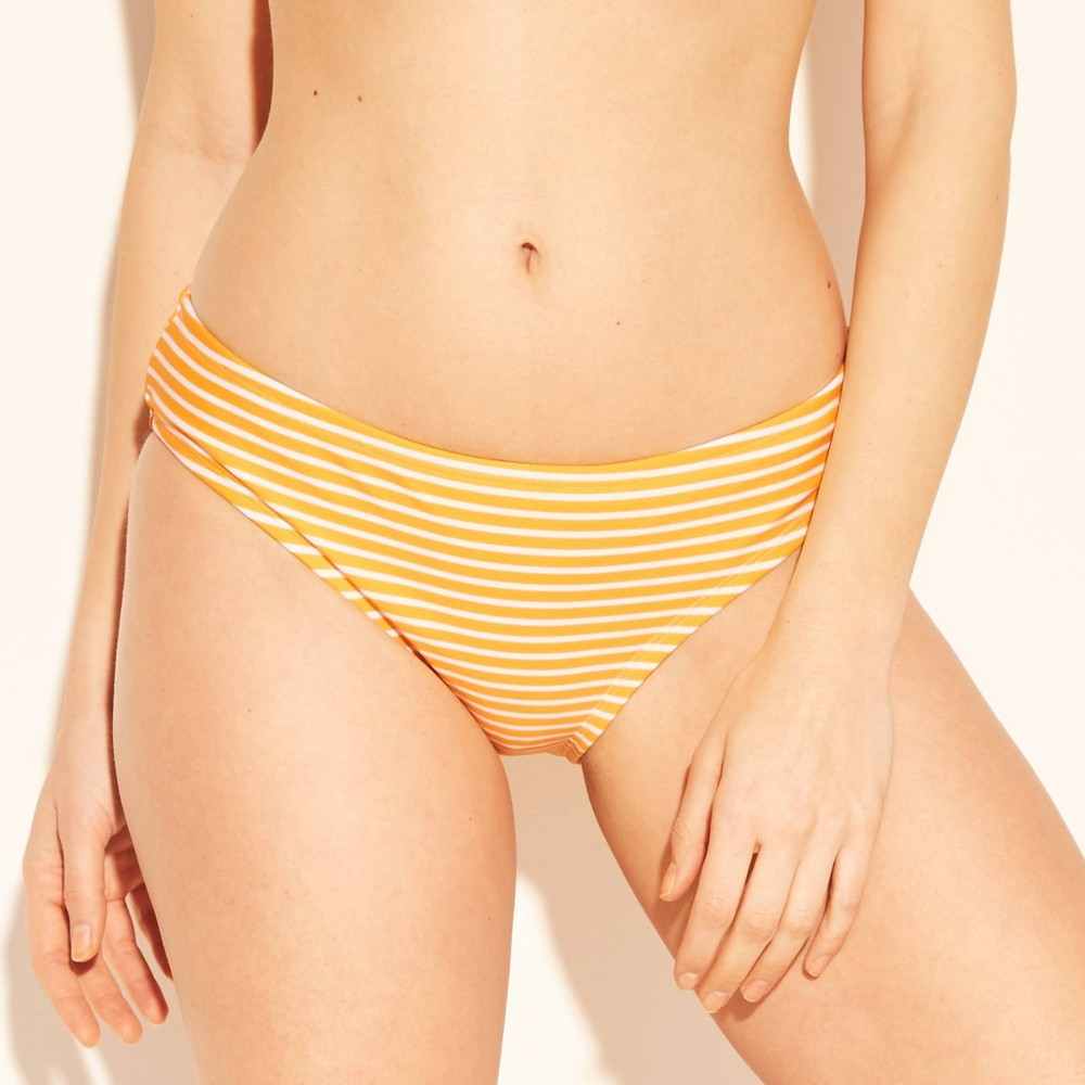 Women's Hipster Bikini bottom - Kona Sol Yellow/White M