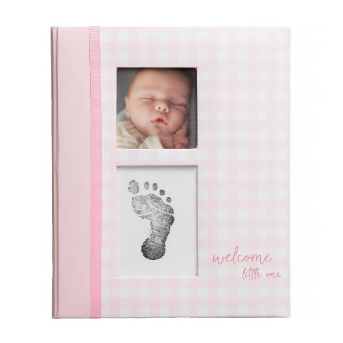 Pearhead Gingham Baby Memory Book - image 1 of 4