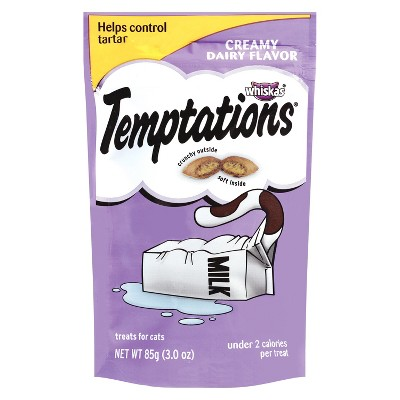 TEMPTATIONS Classic Treats for Cats Creamy Dairy Flavor 3 ozs