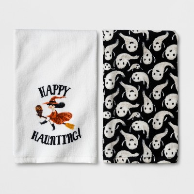 Happy Haunting Halloween Hand Towel 2pk - Hyde and Eek! Boutique™