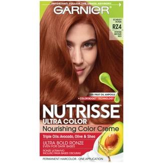 Garnier Nutrisse Ultra Color R4 Scarlet Ronze Intense Bronze Red