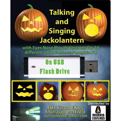 Jack O' Lantern LED Halloween Special Effects Lights