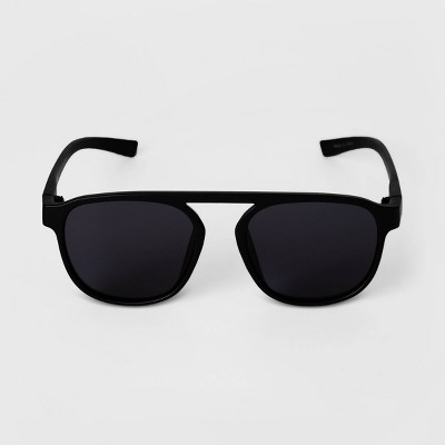 Men's Aviator Sunglasses - Goodfellow & Co™ Black