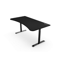 Arozzi ARENA-NA-PURE-BLACK Arena Full Surface Mouse Pad Gaming Desk, Pure Black
