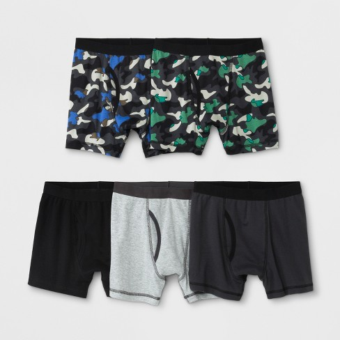 Boys' 5pk Boxer Briefs - Cat & Jack™ Camouflage - image 1 of 1