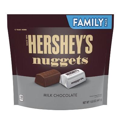 Nuggets Milk Chocolate Family Size Chocolates - 15.8oz