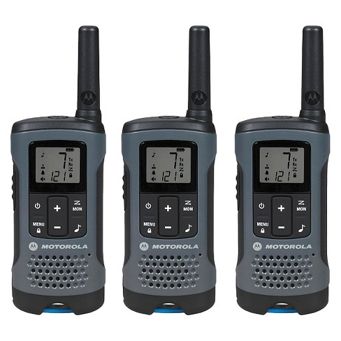 Motorola Talkabout T200TP Radio 3 Pack - Gray (T200TP) - image 1 of 9