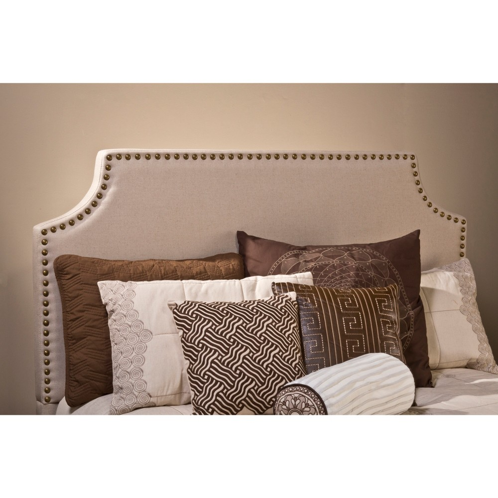 Queen Dekland Headboard Frame Not Included Linen - Hillsdale Furniture