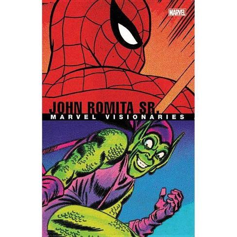 Marvel Visionaries: John Romita Sr. - (Paperback) - image 1 of 1