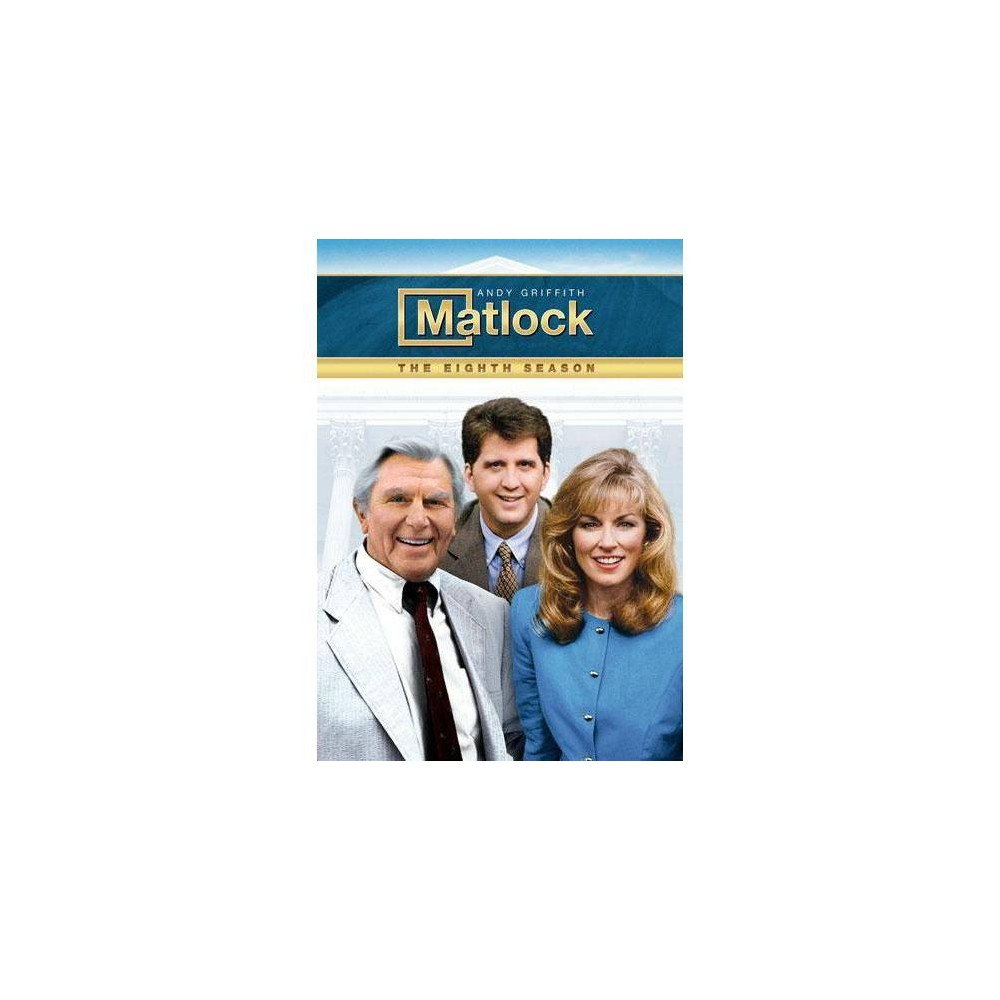 Matlock The Eighth Season Dvd 2013