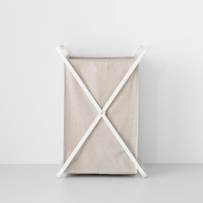 Folding X-Frame Hamper Single Bin - Made By Design™