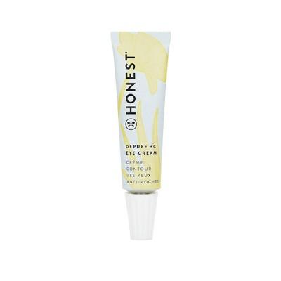 Honest Beauty Depuff + C Eye Cream with Vitamin C - 0.5 fl oz