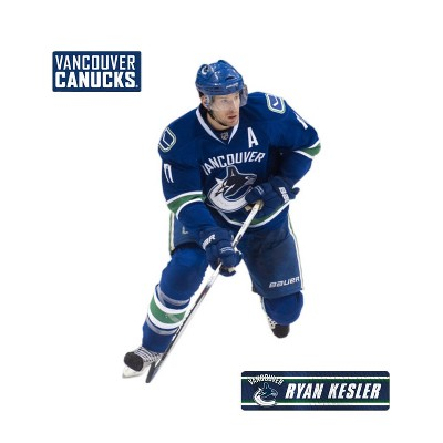 Ryan Kesler Fathead Jr NHL Hockey Player Wall Accent Sticker - Vancouver Canucks..