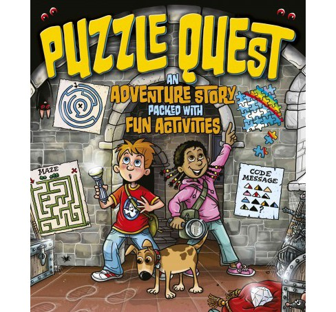 Puzzle Quest : An Adventure Story Packed With Fun Activities (Paperback) (Lisa Regan) - image 1 of 1