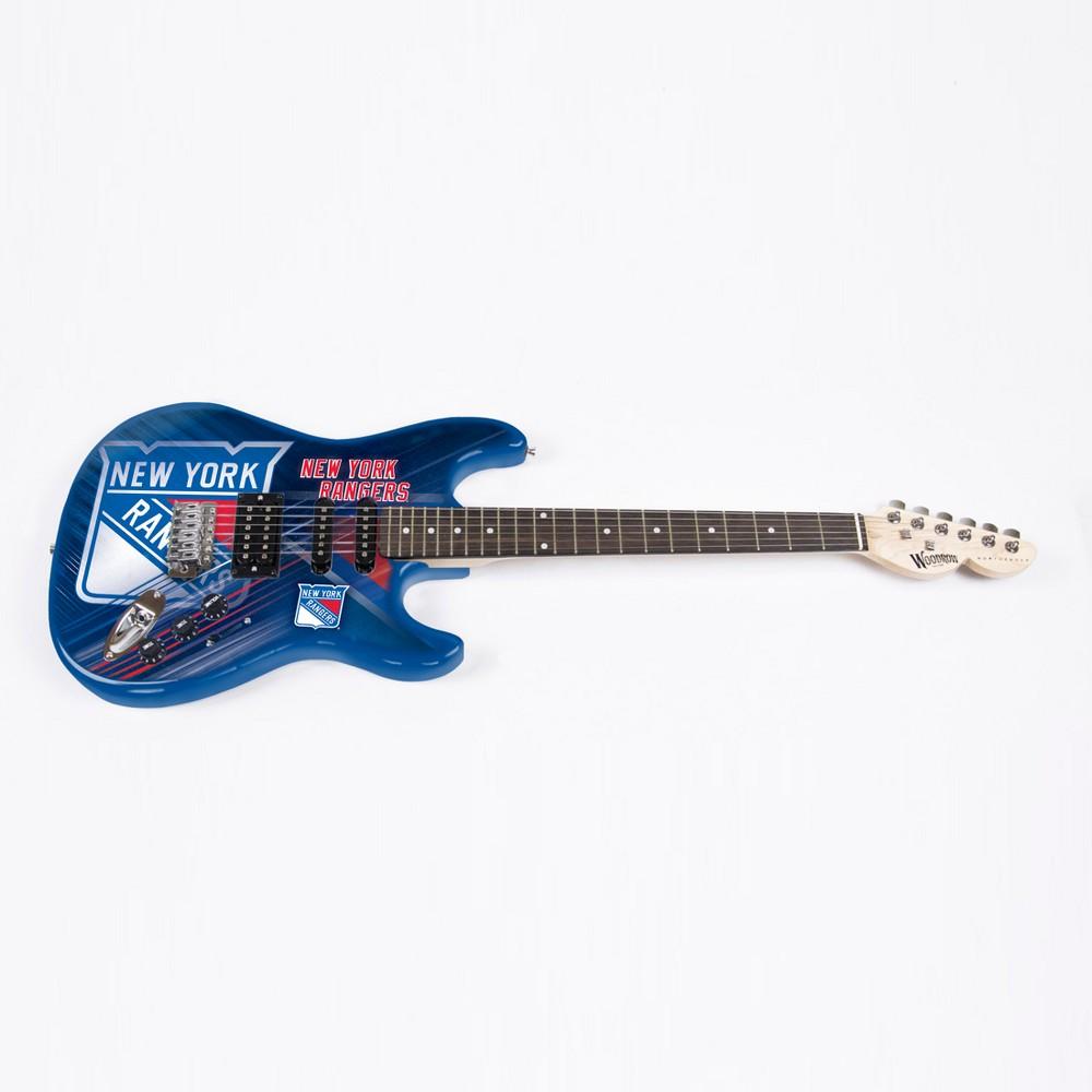 New York Rangers Northender Series II Electric Guitar