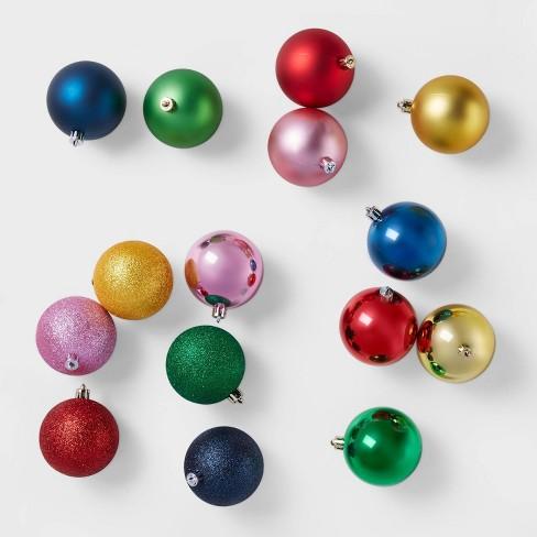 50ct Clown Christmas 70mm Ornament Set - Wondershop™ - image 1 of 3