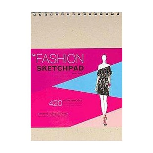 Fashion Sketchpad 420 Figure Templates For Designing Looks