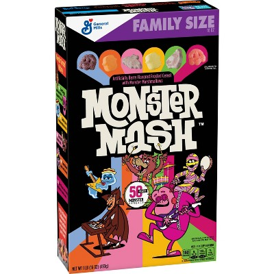 Monster Mash Family Size Cereal - 16oz - General Mills