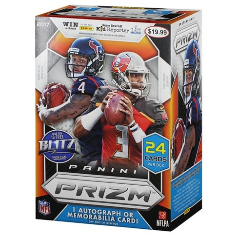 NFL Panini Prizm Football Trading Cards Full Box - image 1 of 2