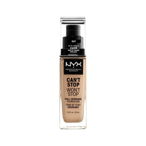 NYX Professional Makeup Can't Stop Won't Stop 24Hr Full Coverage Matte Finish Foundation - 1.3 fl oz - image 1 of 4