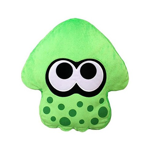 Splatoon 2 14 Plush Pillow Squid Neon Green Target