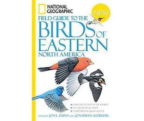 National Geographic Field Guide to the Birds of Eastern North America (Paperback) - image 1 of 1