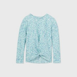 Girls' Long Sleeve Waffle Cozy Pullover - Cat & Jack™