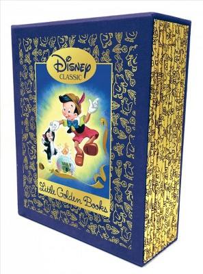 Twelve Beloved Disney Classic Little Golden Books - (Hardcover)