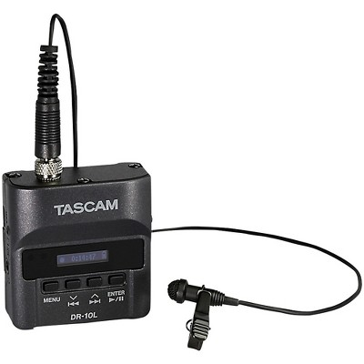 Tascam TASCAM DR-10L Digital Audio Recorder With Lavalier Microphone