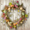 """18"""" Garden Accents Easter Egg Wreath - National Tree Company - image 2 of 3"""