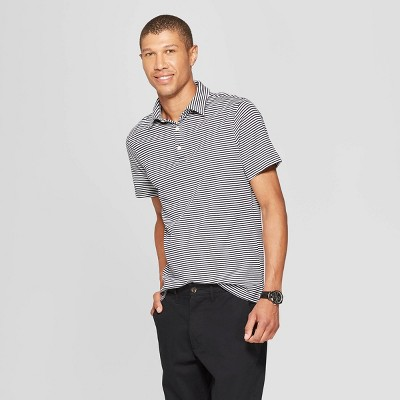 360e65ec3958e9 Men s Standard Fit Short Sleeve Elevated Ultra-Soft Polo Shirt - Goodfellow  ...
