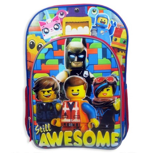 Lego Movie 2 Kids' Deluxe Backpack - Blue - image 1 of 5