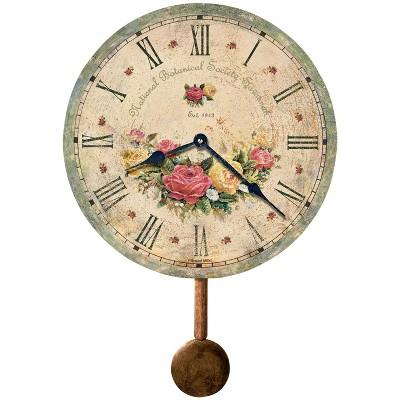 Howard Miller 620401 Howard Miller Savannah Botanical Society VI Wall Clock 620-401