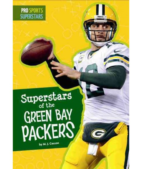 Superstars of the Green Bay Packers (Reprint) (Paperback) (M. J. Cosson) - image 1 of 1