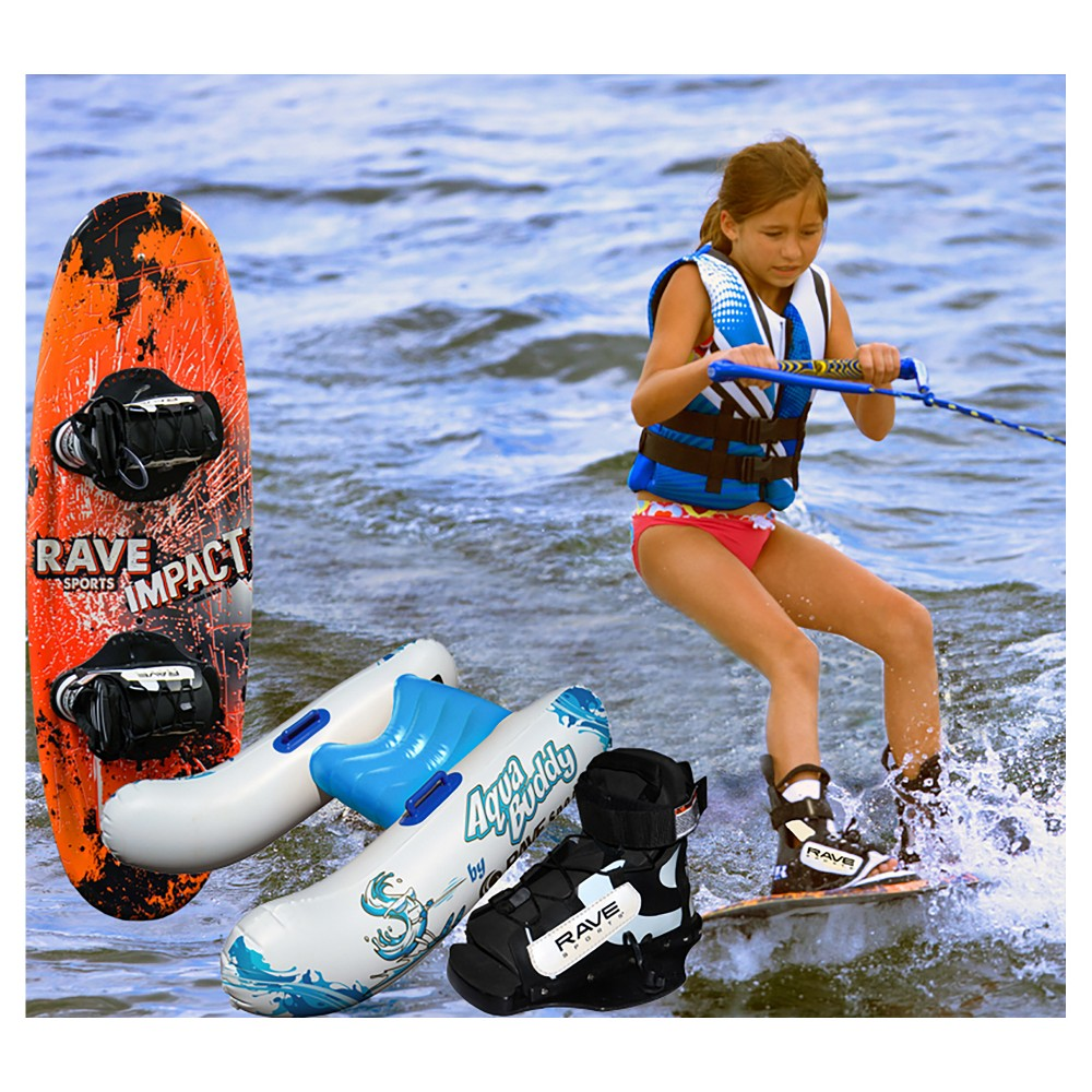 Rave Sports Wakeboard Starter Package - Orange
