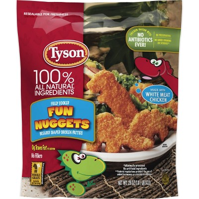 Tyson All Natural White Meat Fun Nuggets - Frozen - 29oz