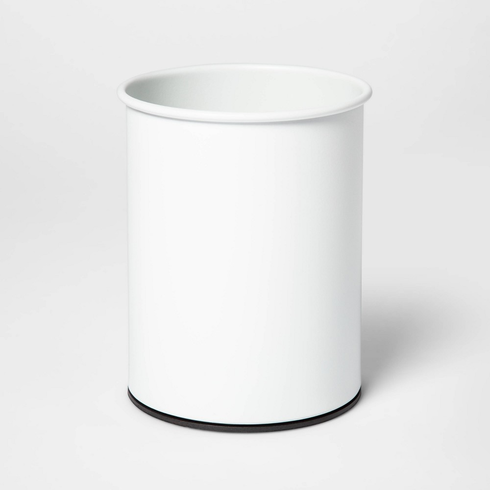Image of Stainless Steel Utensil Storage Container White - Threshold