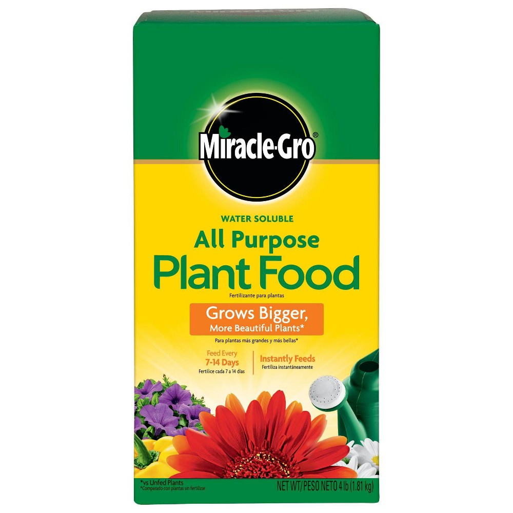 Image of Miracle-Gro Water Soluble All Purpose Plant Food 4lb