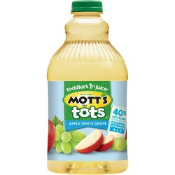 Mott's for Tots Apple White Grape - 64 fl oz Bottle