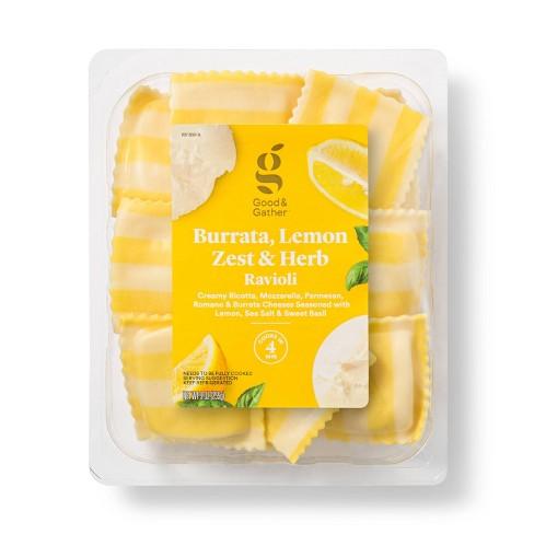 Burrata Lemon Zest Herb Ravioli - 9oz - Good & Gather™ - image 1 of 2
