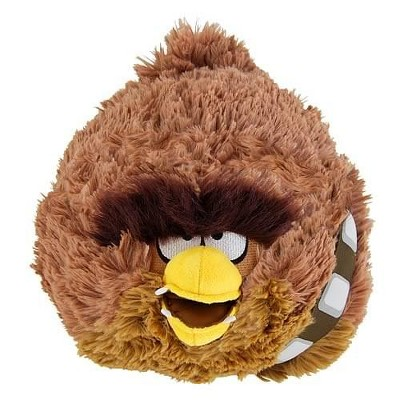 """Commonwealth Toys Angry Birds Star Wars Chewbacca 16"""" Deluxe Plush"""