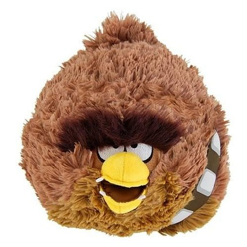 "Commonwealth Toys Angry Birds Star Wars Chewbacca 16"" Deluxe Plush - image 1 of 1"