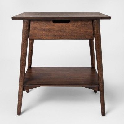 Walnut One Drawer Accent Table - Project 62™