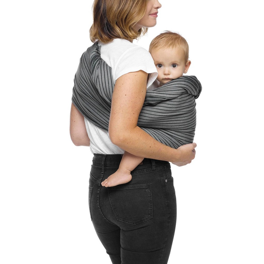 Moby Ring Sling Baby Carrier Jet Ribbons