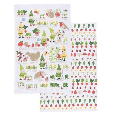 2pk Kitchen Towel (18 x28 )- Now Designs