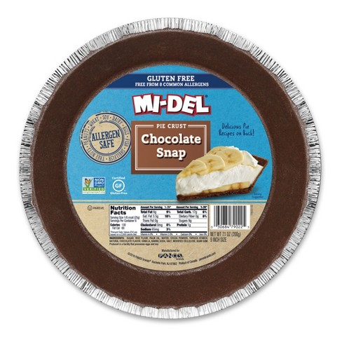 Mi-Del® Gluten Free-Peanut Free Chocolate Snap Pie Crust - 7.1oz - image 1 of 1